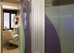 Sala de esterilización dental en Sevilla