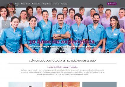 Nueva Web Odontología Especializada Sevilla